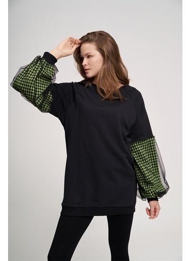 Mizalle Youth Sweatshirt Yeşil